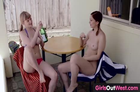 Рыжеволосые сучки обожают развратный секс №3265